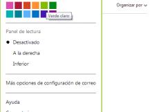 Outlook iniciar sesion te enseña a cambiar color a tu bandeja de entrada