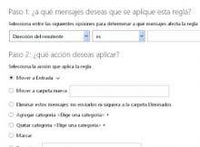 Outlook iniciar sesion te comenta sobre agregar reglas a contactos