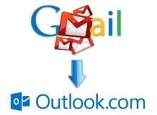 Cambiar de Gmail.com a Outlook iniciar sesion