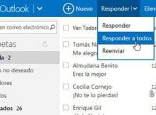 Responder un mensaje en Outlook iniciar sesion