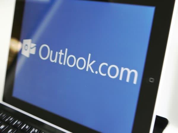 Cambio de apariencia para Outlook